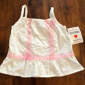 Young Hearts Tank Top - Girls 3T NWT